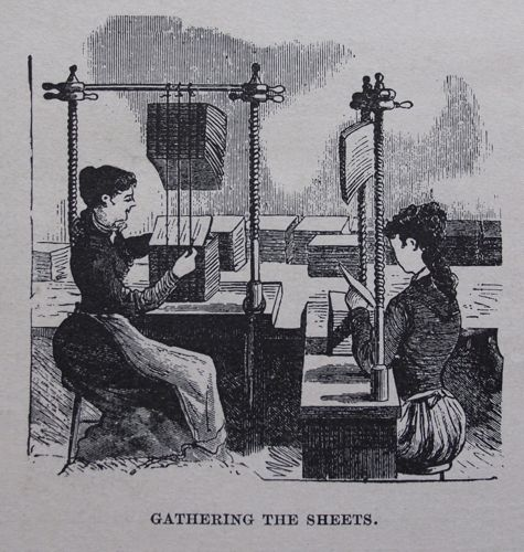 sewing in the air